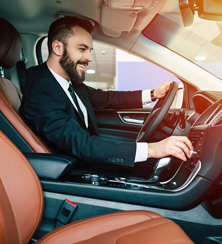 Faire l'acquisition de voiture de luxe